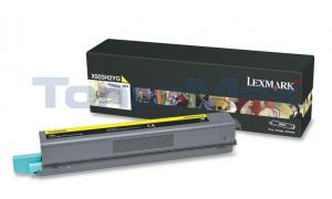 LEXMARK X925 TONER CART YELLOW 7.5K (X925H2YG)
