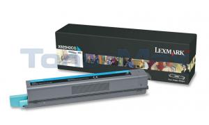 LEXMARK X925 TONER CART CYAN 7.5K (X925H2CG)