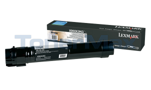 LEXMARK X950 TONER CARTRIDGE BLACK 32K (X950X2KG)