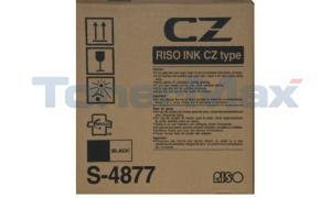 RISO CZ180 INK BLACK (S-4877)