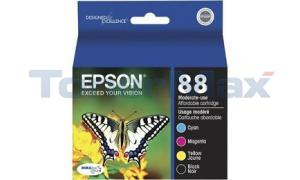 EPSON STYLUS CX4400 INK CTG CMYK COMBO PACK (T088120-BCS)