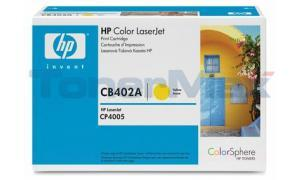 HP CLR LJ CP4500 GOV PRINT CART YELLOW (CB402AG)
