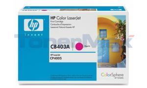 HP CLR LJ CP4005 GOV PRINT CART MAGENTA (CB403AG)