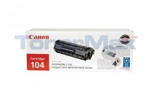 CANON FAXPHONE L120 104 TONER BLACK (0263B001)