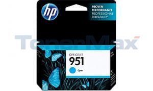 HP OFFICEJET NO 951 INK CARTRIDGE CYAN (CN050AN)