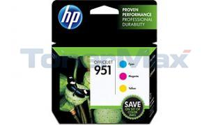 HP OFFICEJET NO 951 INK COLOR COMBO PACK (CR314FN)