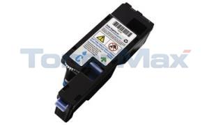Compatible for DELL 1250C 1355CN TONER CART CYAN 1.4K (331-0777)