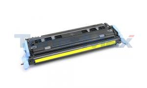 Compatible for HP NO 124A CLJ-2600 PRINT CARTRIDGE YELLOW  (Q6002A)