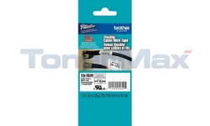 BROTHER TZ ID FLEXIBLE TAPE BLACK ON WHITE 18 MM X 8 M (TZE-FX241)