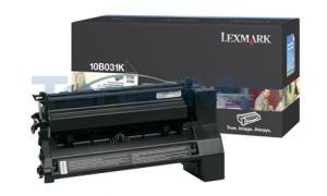 LEXMARK C750 PRINT CART BLACK (10B031K)