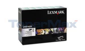 LEXMARK T610 TONER CARTRIDGE BLACK RP TAA (24B1429)
