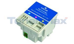 Compatible for EPSON STYLUS C42UX C44UX INK CART TRICOLOR (T037020)