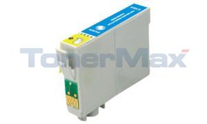 Compatible for EPSON STYLUS PHOTO/R300/R330M/R500 INKJET CYAN (T048220)