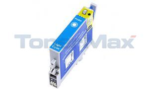 Compatible for EPSON STYLUS PHOTO R300/300M/RX500 INK CTG LIGHT CYAN (T048520)