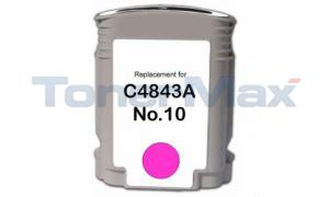 Compatible for HP 10 INK MAGENTA 28ML (C4843A)