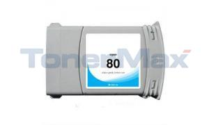Compatible for HP DESIGNJET 1050C NO 80 INK CYAN 350ML (C4846A)
