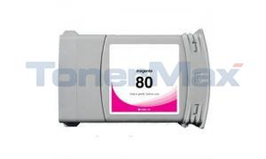 Compatible for HP DESIGNJET 1050C NO 80 INK MAGENTA 350ML (C4847A)