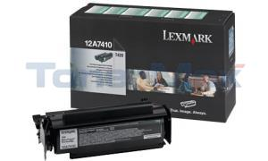 LEXMARK T420 TONER CARTRIDGE BLACK RP 5K (12A7410)
