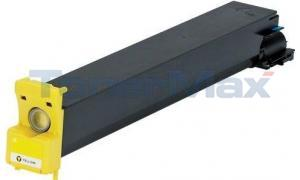Compatible for KONICA C250 250P TONER YELLOW (8938-506)
