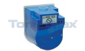 Compatible for KONICA MINOLTA BIZHUB C350 TONER CYAN (TN-310C)