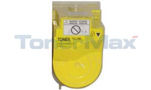 Compatible for KONICA MINOLTA BIZHUB C350 TONER YELLOW (TN-310Y)