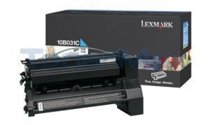 LEXMARK C750 PRINT CART CYAN (10B031C)