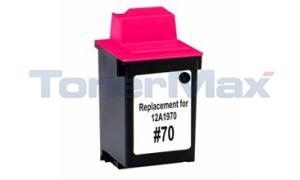 Compatible for LEXMARK 3200 NO 70 PRINT CARTRIDGE BLACK (12A1970)