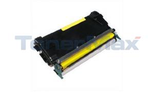 Compatible for LEXMARK C524 TONER CARTRIDGE YELLOW 3K (C5222YS)