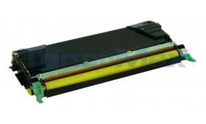Compatible for LEXMARK C524 C532 TONER CARTRIDGE YELLOW RP 5K (C5240YH)