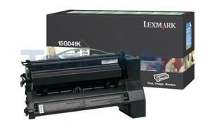 LEXMARK C752 RP PRINT CART BLACK 6K (15G041K)