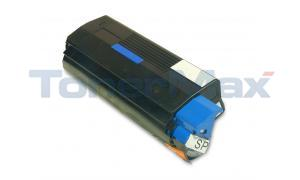 Compatible for OKIDATA C3200 TONER CARTRIDGE CYAN (43034803)