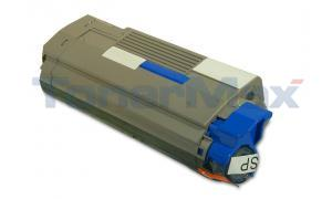 Compatible for OKIDATA C5500N C5800LDN TONER CART CYAN 5K (43324403)