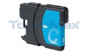 Compatible for BROTHER DCP165C INK CARTRIDGE CYAN (LC61C)