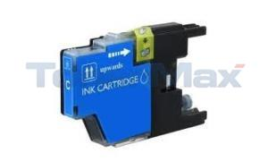 Compatible for BROTHER MFC-J6910DW INK CARTRIDGE CYAN HY (LC-75C)