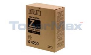 RISO RZ Z TYPE 30 A4-L MASTER STANDARD (S-4250)