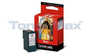 LEXMARK 31 PHOTO INK CARTRIDGE COLOUR (18C0031)