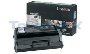 LEXMARK E220 TONER CARTRIDGE BLACK RP (12S0400)