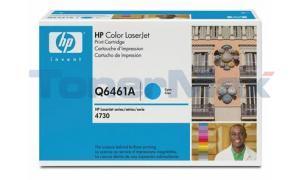 HP CLJ 4730 MFP TONER CART CYAN GOV (Q6461AG)