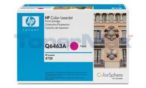 HP CLJ 4730 MFP TONER CART MAGENTA GOV (Q6463AG)