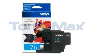 BROTHER MFC-J280W INK CARTRIDGE CYAN (LC-71C)