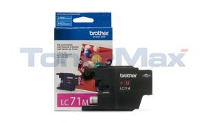 BROTHER MFC-J280W INK CARTRIDGE MAGENTA (LC-71M)