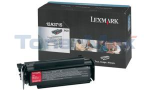 LEXMARK X422 TONER CARTRIDGE BLACK HY (12A3715)