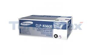SAMSUNG CLP610ND TONER CARTRIDGE BLACK 5.5K (CLP-K660B/XAA)