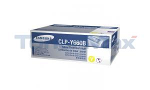 SAMSUNG CLP610ND TONER CARTRIDGE YELLOW 5K (CLP-Y660B/XAA)