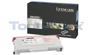 LEXMARK C510 TONER CART BLACK 5K (20K0503)