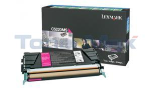 LEXMARK C524 TONER CARTRIDGE MAGENTA RP (C5220MS)