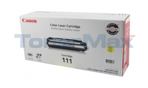 CANON CRG-111 TONER CARTRIDGE YELLOW (1657B001)