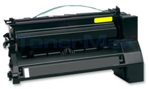 Compatible for LEXMARK C782 X782 TONER CARTRIDGE YELLOW 15K (C782X2YG)