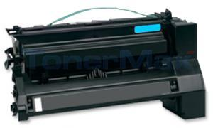 Compatible for LEXMARK C782 X782 TONER CARTRIDGE CYAN 15K (C782X2CG)