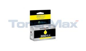 LEXMARK NO 200XLA RP INK CARTRIDGE YELLOW HY (14L0200)